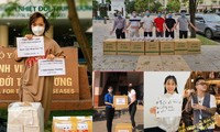 Những hành động đẹp giữa đại dịch COVID -19 của sao Việt