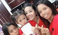 Bạn thân chia sẻ xúc động về hai vú nuôi đang chăm sóc con gái Mai Phương