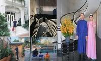 Ngưỡng mộ với không gian trong biệt thự riêng của vợ chồng Tăng Thanh Hà