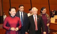 Lãnh đạo Đảng, Nhà nước dự phiên khai mạc kỳ họp Quốc hội