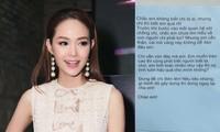 Minh Hằng tiết lộ gây sốc về chủ nhân bức thư nặc danh tố cô 'giật chồng', 'đào mỏ'