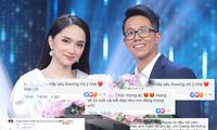 Dàn sao Việt 'xốn xang', fan rầm rộ chúc mừng khi Hương Giang và CEO 'bạc tỷ' hẹn hò