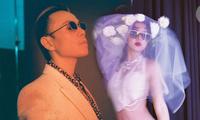 Cặp đôi Châu Bùi - Binz tung ảnh cô dâu, chú rể khiến dân mạng rần rần 'dậy sóng'