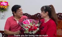 Nghệ sĩ Phú Quý biết ơn khi được vợ kém 22 tuổi lo cho 'từng miếng cháo, từng viên thuốc'