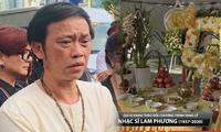 Hoài Linh làm thơ tiễn biệt nhạc sĩ Lam Phương, MC Kỳ Duyên viết tâm thư xúc động