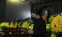 Nghẹn lòng trước lời tiễn biệt cha của nhạc sĩ Quốc Trung tại tang lễ NSND Trung Kiên