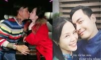 SAO VIỆT MÙNG 3 TẾT: Tuấn Hưng 'khóa môi' vợ, Phan Anh nói lời yêu tới bà xã ngày 14/2