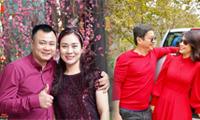 Nghệ sĩ Tự Long, Chí Trung tung ảnh tình tứ bên bạn đời