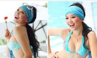 Tóc Tiên tung ảnh lần đầu mặc bikini gợi cảm 13 năm trước