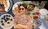 Dân mạng ngất ngây ngắm kênh đồ ăn 'thượng hạng' của Tăng Thanh Hà