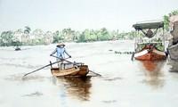 Du khách Pháp vẽ cảnh đẹp Việt Nam, gửi cho bạn bè về đất nước chống COVID-19 hiệu quả