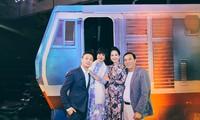 Vợ chồng nghệ sĩ Đỗ Kỷ, Hương Bông lần đầu chia sẻ về những kỷ niệm ở bến tàu