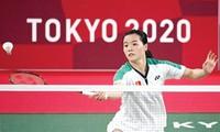 Tay vợt Nguyễn Thuỳ Linh trải qua kỳ Olympic thành công ngoài mong đợi. Ảnh: GETTY IMAGES