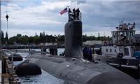 Tàu ngầm hạt nhân lớp Virginia của Mỹ. Ảnh: US Navy