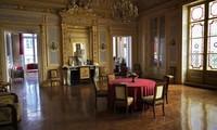 Bên trong nhà hàng Palais Vivienne ở Paris, nơi được xác định là một địa điểm trong video quay lén