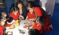 Theo Thông tư 50, các trường có thể dạy tiếng Anh cho trẻ bé nhất từ 3-4 tuổi