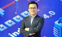 PGS.TS Trần Xuân Bách - Tổng thư ký Diễn đàn Trí thức trẻ Việt Nam toàn cầu lần thứ nhất Ảnh: Xuân Tùng