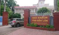 Nhà khách Tỉnh ủy Đắk Lắk, nơi bà Thảo được tuyển vào làm việc sau khi tốt nghiệp ngành kế toán với tên của chị gái