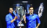Federer và Nadal vô địch Laver Cup 2017 trong màu áo Đội châu Âu