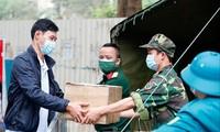 Chủ tịch UBND thành phố Hà Nội yêu cầu không gửi đồ tiếp tế vào các khu cách ly tập trung Ảnh: PV