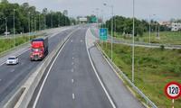 Một đoạn cao tốc trên tuyến Bắc - Nam đã hoàn thành
