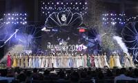Đêm bán kết quy mô hoành tráng nhất từ trước tới nay của Hoa hậu Việt Nam 2020 Ảnh: S.V