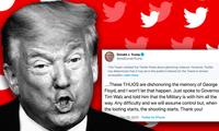 Ông Donald Trump mất kênh liên lạc quan trọng với những người ủng hộ sau khi bị Twitter khoá tài khoản Ảnh: Getty Images