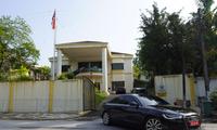 Ðại sứ quán Triều Tiên ở Kuala Lumpur Ảnh: AP