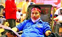 Cao Đức Trâm, Thủ lĩnh Đoàn khuyết tay từng 24 lần hiến máu tình nguyện