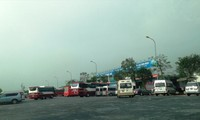 Trạm dừng nghỉ trên tuyến cao tốc Cầu Giẽ - Ninh Bình. Ảnh: Bảo An