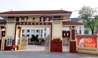 Trụ sở UBND huyện Vĩnh Tường, tỉnh Vĩnh Phúc. Ảnh: Minh châu
