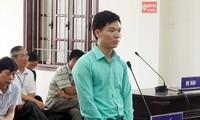 Bị cáo Hoàng Công Lương tại phiên phúc thẩm. Ảnh: Nguyễn Hoàn
