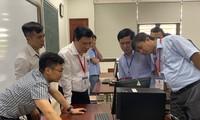 Thí sinh dự thi kỳ thi THPT Quốc gia 2019 tại TPHCM. Ảnh: Nguyễn Dũng