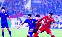 Ðội tuyển U22 Việt Nam đang sở hữu lứa tuổi cầu thủ trẻ nhưng dày kinh nghiệm thi đấu. Ảnh: Như Ý