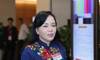Bộ trưởng Y tế Nguyễn Thị Kim Tiến. Ảnh: Như Ý