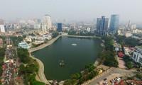 Hồ Thành Công được đề xuất lấp xây chung cư - Ảnh: Reatimes