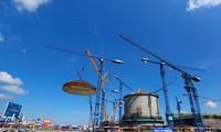 Tập đoàn Yantai Taihai chuyên sản xuất lắp đặt các công trình hạt nhân. Trong ảnh là một lò phản ứng đang được xây dựng ẢNH:Reuters