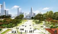 Khu vực dự kiến xây dựng quảng trường trung tâm Thủ Thiêm