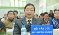 Ông Bùi Văn Cửu - Phó Chủ tịch UBND tỉnh Hoà Bình
