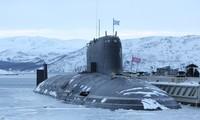 Một trong những tàu ngầm hiện đại nhất của hải quân Nga, tàu K-560 Severodvinsk ảnh: wikipedia
