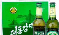Hình ảnh chai bia Taedonggang trên một trang đấu giá trực tuyến ở Nhật ẢNH: Asahi Shimbun