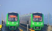 Tuyến đường sắt Cát Linh - Hà Ðông chưa rõ ngày nào đi vào hoạt động chính thức. Ảnh: Hồng Vĩnh
