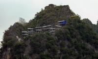 Dự án thang máy ngắm cảnh tham quan di tích Đồn Cao (huyện Đồng Văn, tỉnh Hà Giang) Ảnh: Xuân Tùng