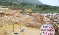 Thủy điện Chu Va 2 chưa được cấp phép vẫn tận thu vật liệu xây dựng