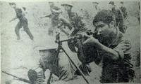 Bộ đội ta chiến đấu tại biên giới phía Bắc năm 1979. Ảnh tư liệu báo Tiền Phong