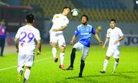 Sân Cẩm Phả, Quảng Ninh được chọn là một trong số các sân thi đấu ở phương án V-League thi đấu lượt đi tập trung tại miền Bắc nếu điều kiện cho phép ảnh: CTV