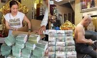 Vợ chồng Đường - Dương thường khoe tiền, đất trên mạng xã hội