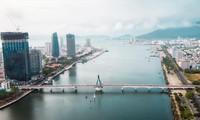 Một góc thành phố Đà Nẵng bên bờ sông Hàn Ảnh: Nguyễn Trình