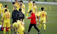 Thời cơ đang ủng hộ HLV Park Hang Seo đưa đội tuyển Việt Nam đoạt vé đi tiếp ở Vòng loại thứ 2 World Cup 2022 ảnh: Anh Tú