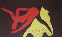 Liêu xiêu tranh cắt giấy Công Quốc Hà